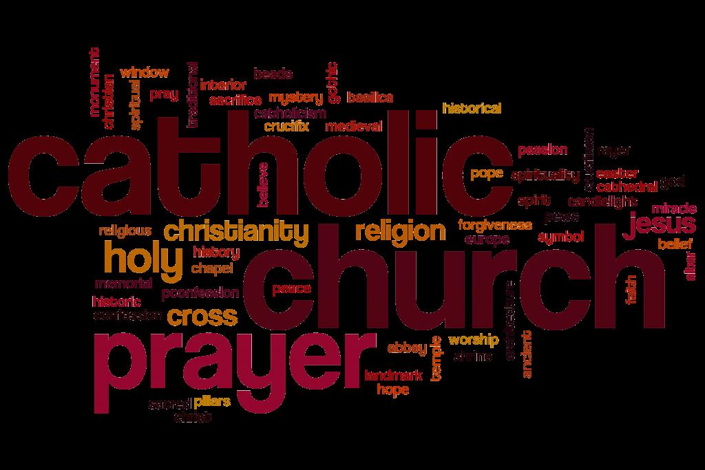 Catholic Word Cloud